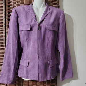 STUDIO 1 jacket color purple light